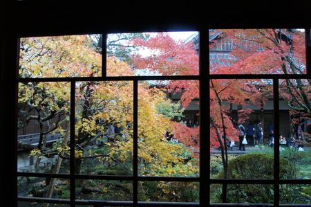 永観堂本堂からの庭