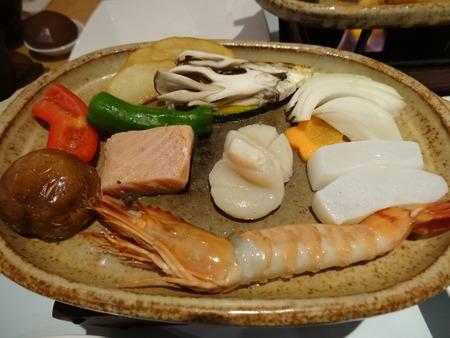 海鮮陶板焼き