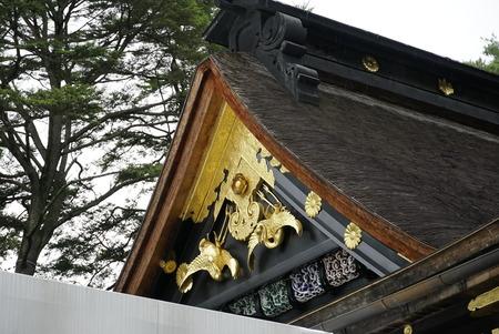大崎八幡宮・本殿屋根