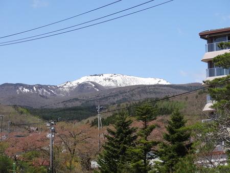 安達太良山遠景
