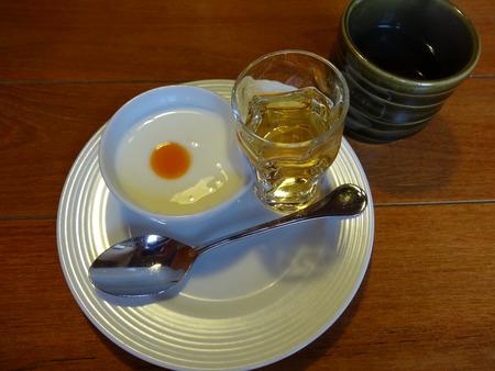 朝食のお通し