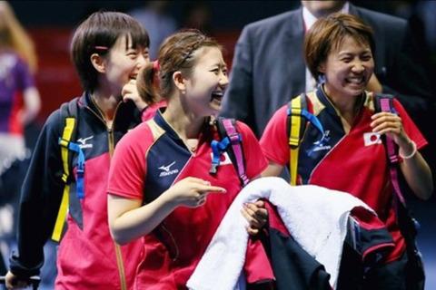 卓球女子団体戦