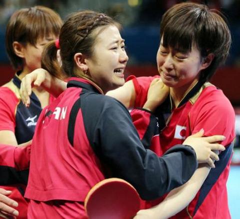 卓球女子団体戦2