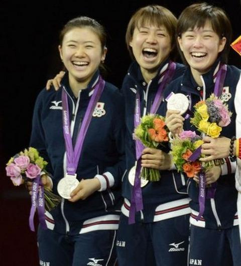 卓球女子団体戦3