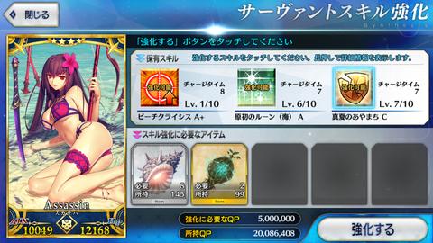 スカサハ殺スキルマIMG_8942