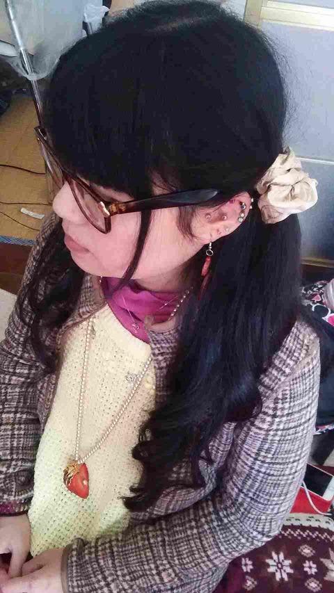 2月25日咲羅ちゃんお泊りヘアアレンジimg_3642