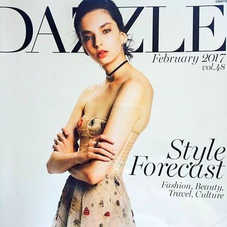 「DAZZLE」(日経BP社)で誌面で厳選チョコレートを
