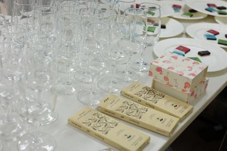 ショコラとワインのペアリングセミナー@朝日カルチャーセンター(蜂須賀紀子さん&市川歩美)