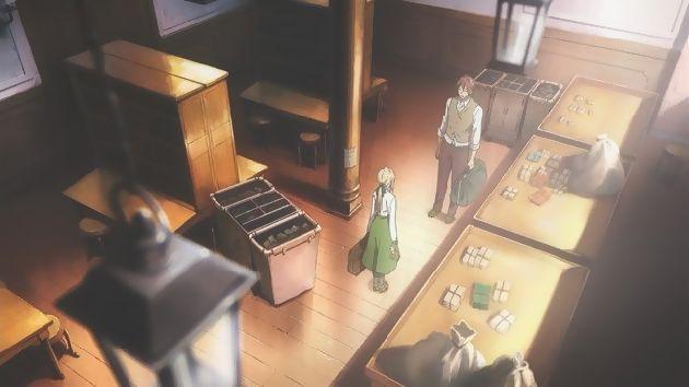 ヴァイオレット・エヴァーガーデン 1話 (11)