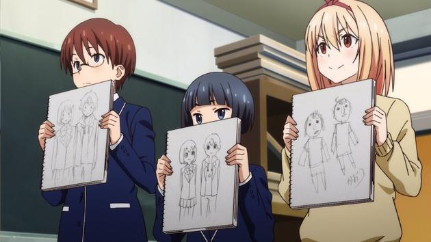 アニメ この美術部には問題がある! 画像