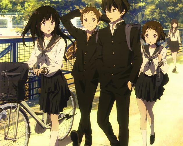 【氷菓】京アニで一番つまらないアニメといえば・・・〈古典部〉シリーズの「氷菓」・・・だと!?それはねぇわwww(画像あり)