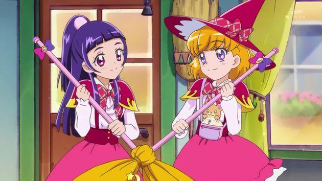 アニメ 百合カップル アニメキャラ