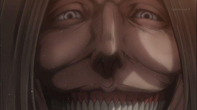 「進撃の巨人 Season2」36話 (39