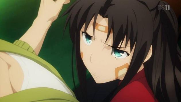 Fate 遠坂凛 キャラ 可愛い