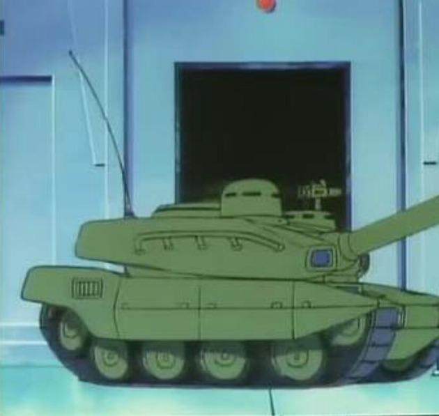 アニメ 戦車
