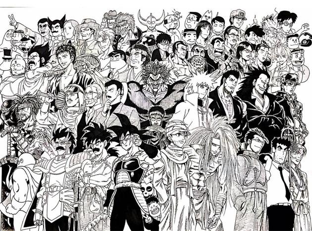日本の父親 アニメキャラ