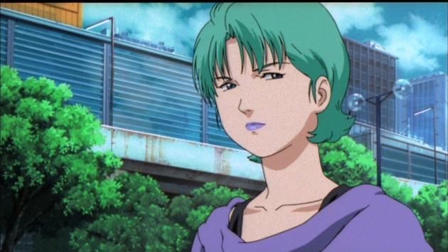 緑髪 キャラ