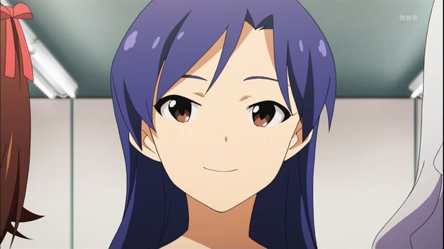 アニメキャラ 青髪