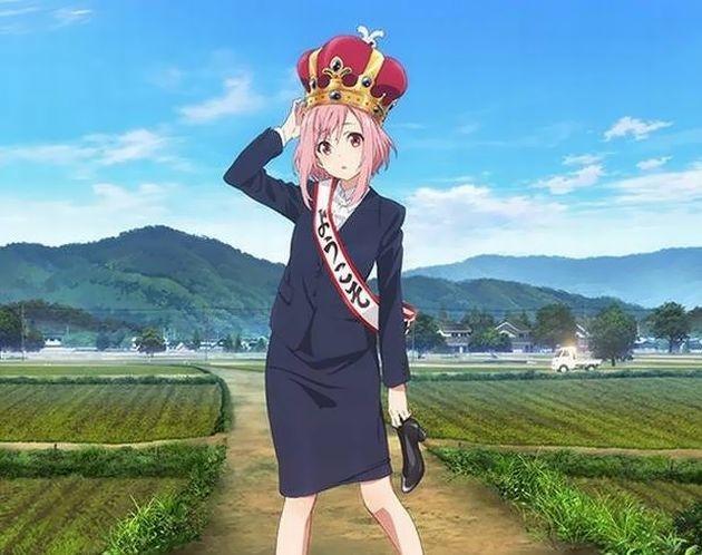 お仕事シリーズ サクラクエスト P.A.WORKS 2017春アニメ