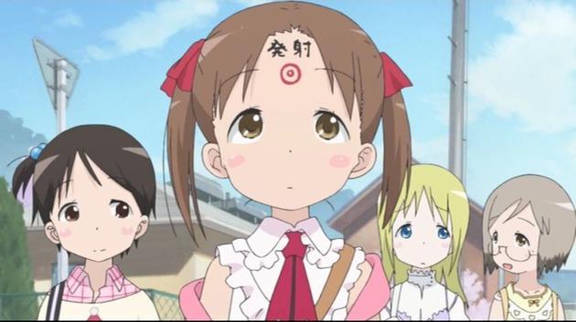 女の子 ギャグアニメ