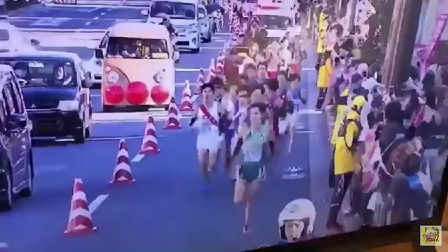 アンパンマン号 箱根駅伝