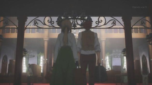 ヴァイオレット・エヴァーガーデン 1話 (10)