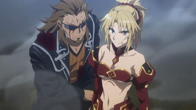 アニメ「Fate/Apocrypha」23話-感想:モードレッドと獅子劫がマジ最高だったな…!この二人の戦いに1話丸々使うべきだったろ!!