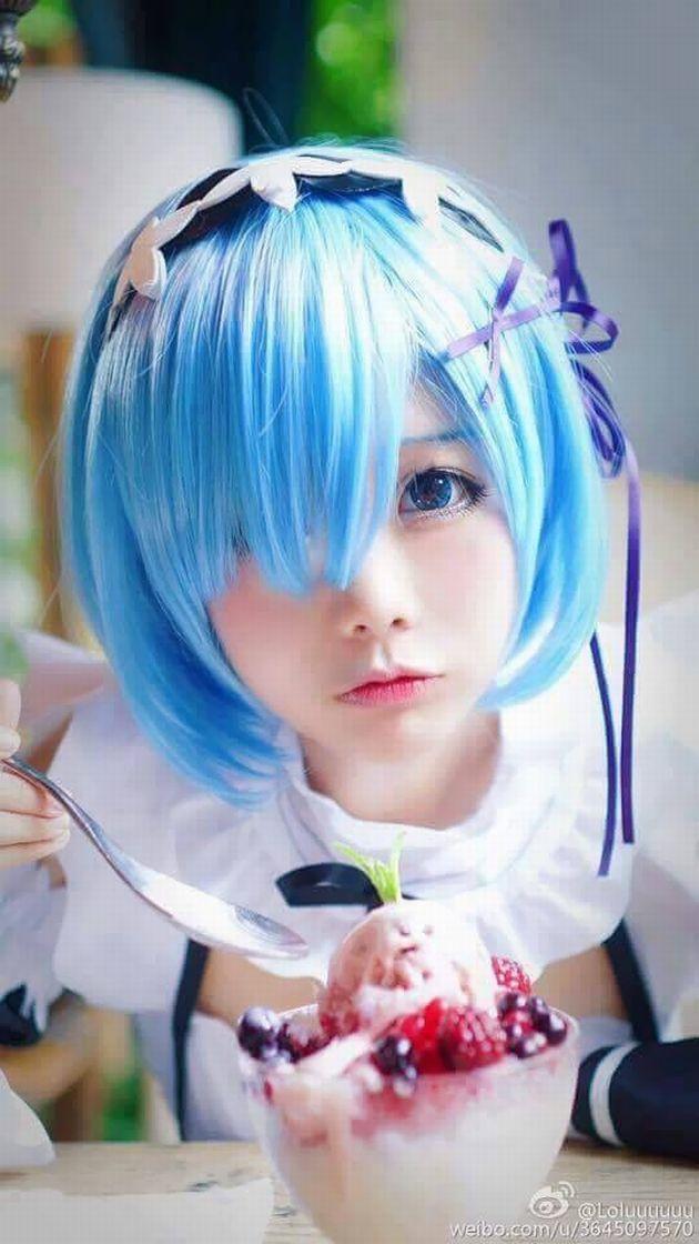 【コスプレ】中国のコスプレイヤー『Hoshilily』ちゃんのレム(リゼロ)コスプレが可愛すぎるぅううう…!!!!(画像あり)