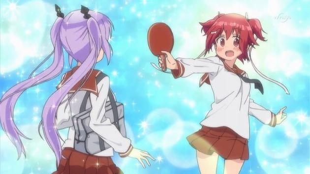 灼熱の卓球娘 咲-Saki- 卓球編 能力バトル