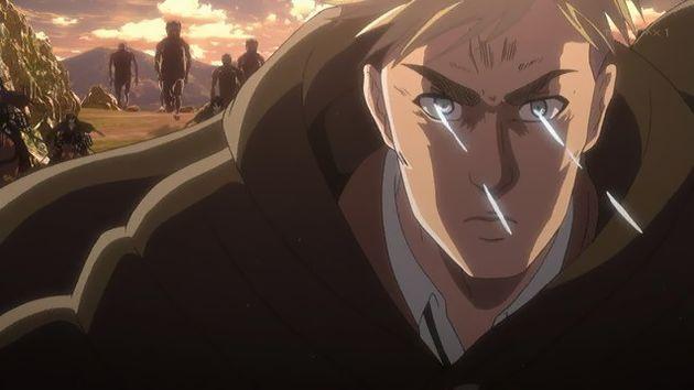 「進撃の巨人 Season2」36話 (21