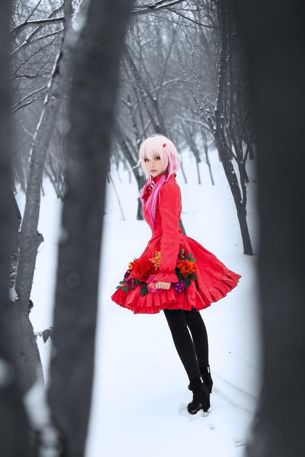 【コスプレ】ギルティクラウン「楪いのり」に扮する中国のコスプレイヤー「yoiya宵夜」が可愛くないッスか!!?(画像あり)