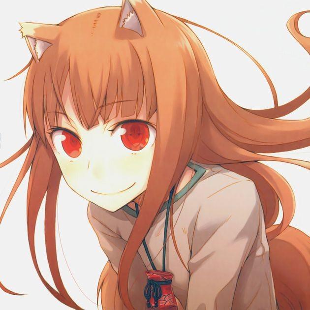 【狼と香辛料】賢狼ホロとかいう獣耳っ娘って可愛すぎないですかね・・・