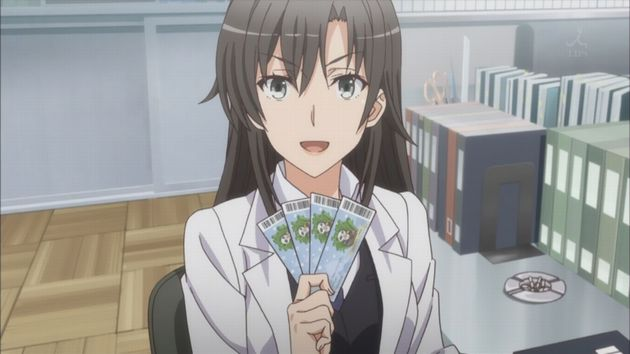俺ガイル アニメキャラ
