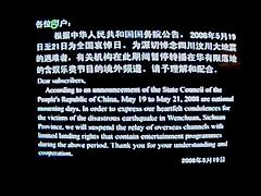 全国哀悼の日テレビ画面01