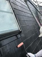 7-29屋根下塗りミラクシーラーEPO塗布1回目3
