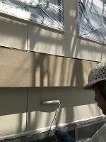 8-27外壁上塗りガイナ塗布3回目 (2)