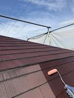 9-13大屋根ミラクシーラーEPO下塗り塗装(4)
