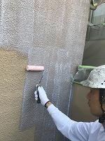 5-12外壁SKミラクシーラーECO下塗り塗装 (3)