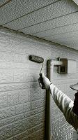 4-30外壁上塗りラジカルコートパーフェクトトップ塗布2回目