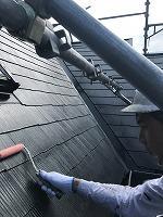 7-31屋根下塗りミラクシーラーEPO塗布2回目 (4)