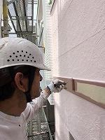 6-24破風幕板上塗りフッ素塗布1回目 (3)