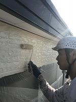 9-25外壁上塗りフッ素塗布2回目5