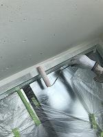 8-12外壁中塗りダイナミックフィラー塗布2回目 (4)