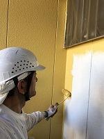 5-6外壁上塗りダイナミックトップ塗布1回目 (2)