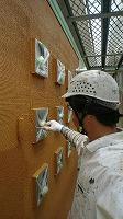 6-1外壁上塗りダイナミックトップ塗布2回目1