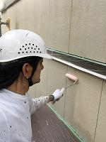 5-3外壁エポキシ系シーラー下塗り塗布3