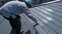 5-28屋根断熱ガイナ上塗り2回目