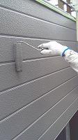 8-28外壁上塗りフッ素塗布2回目