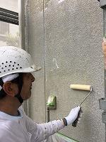 8-25外壁ミラクシーラーECO下塗り塗装 (1)