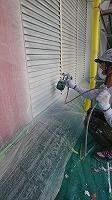 6-4雨戸4Fフッ素上塗り塗装2回目